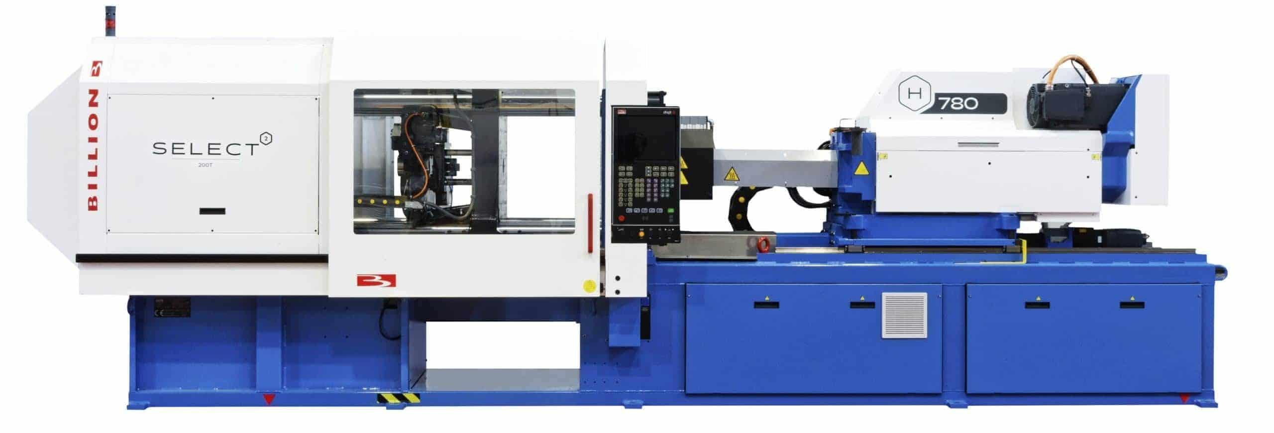 billion injection molding machines