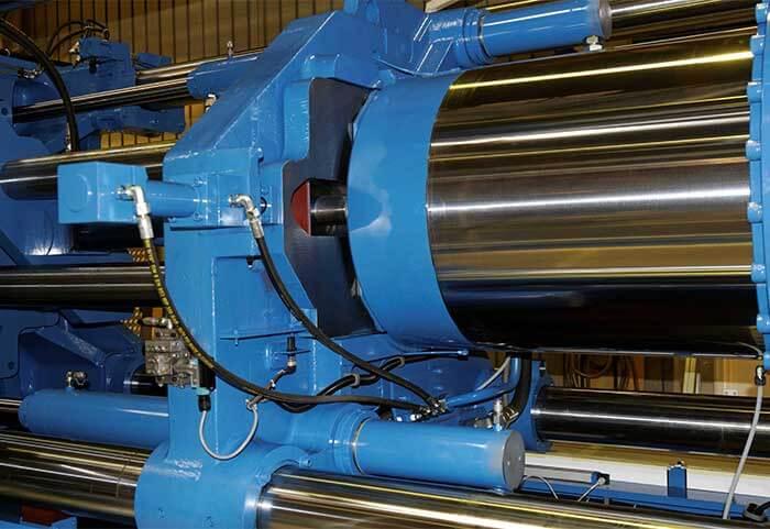 Injection thermoplastique avec les presse GM - Châssis rigide & robuste