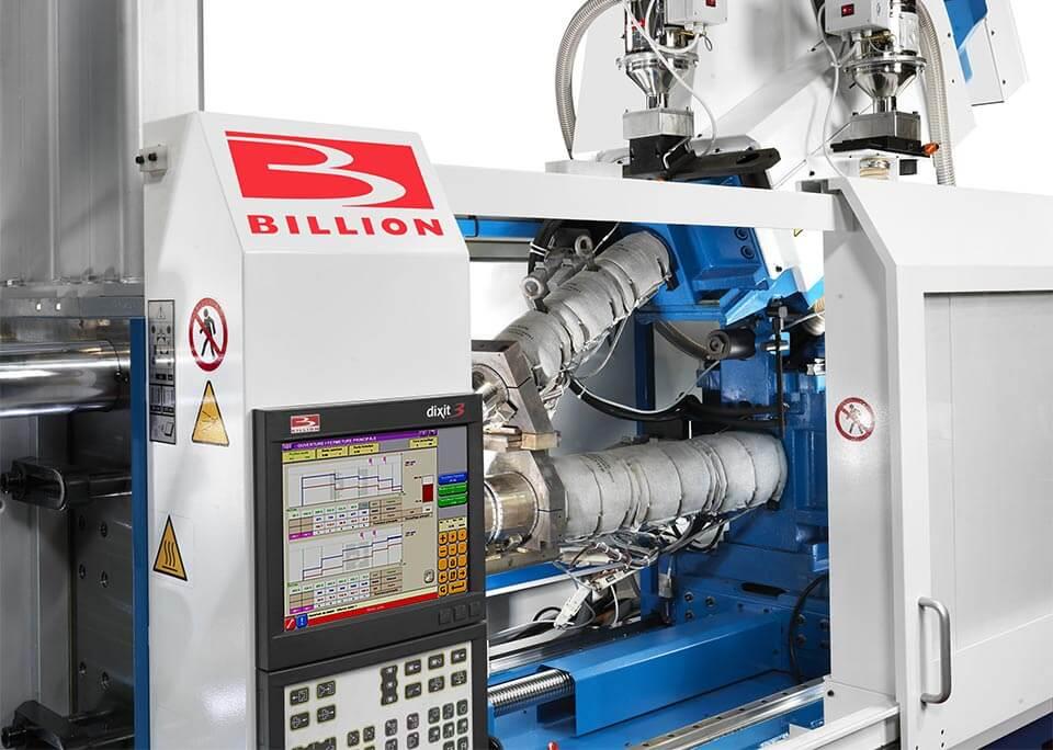 Billion wählte die Vielseitigkeit der V-Lösung für die Mehrkomponententechnik