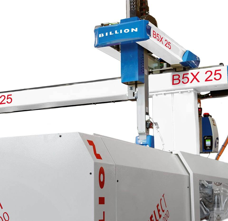 Billion - Eine große Bandbreite an Robotern für alle Produktionsarten