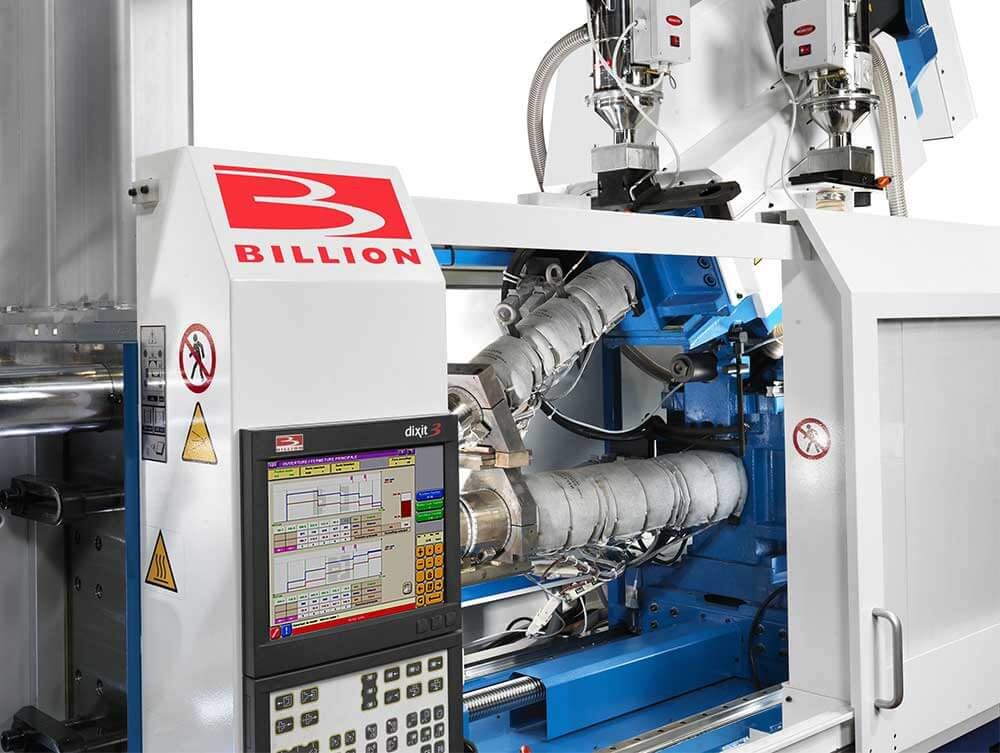 The versatile V configuration is chosen by BILLION for the implementation of the 2nd injection unit